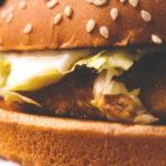 ハンバーガー(ジェイミー・オリヴァーの給食革命用イメージ)