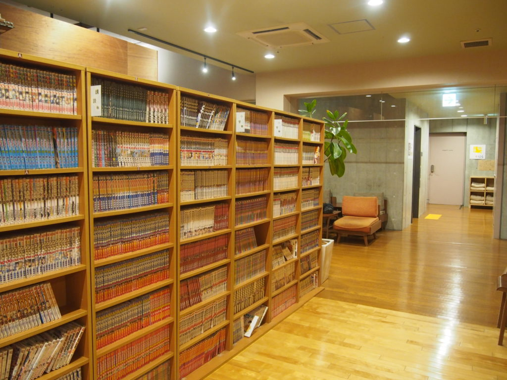 漫画本の棚