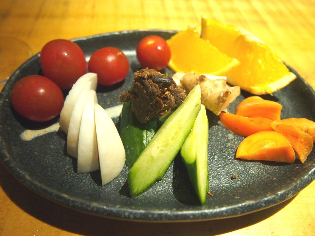 生野菜の盛り合わせ