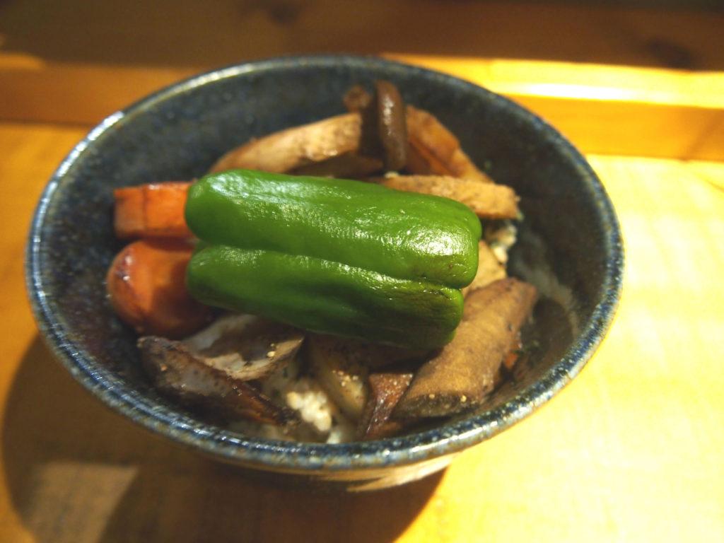 野菜どんぶり