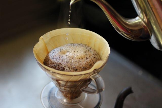 水出しコーヒーの抽出