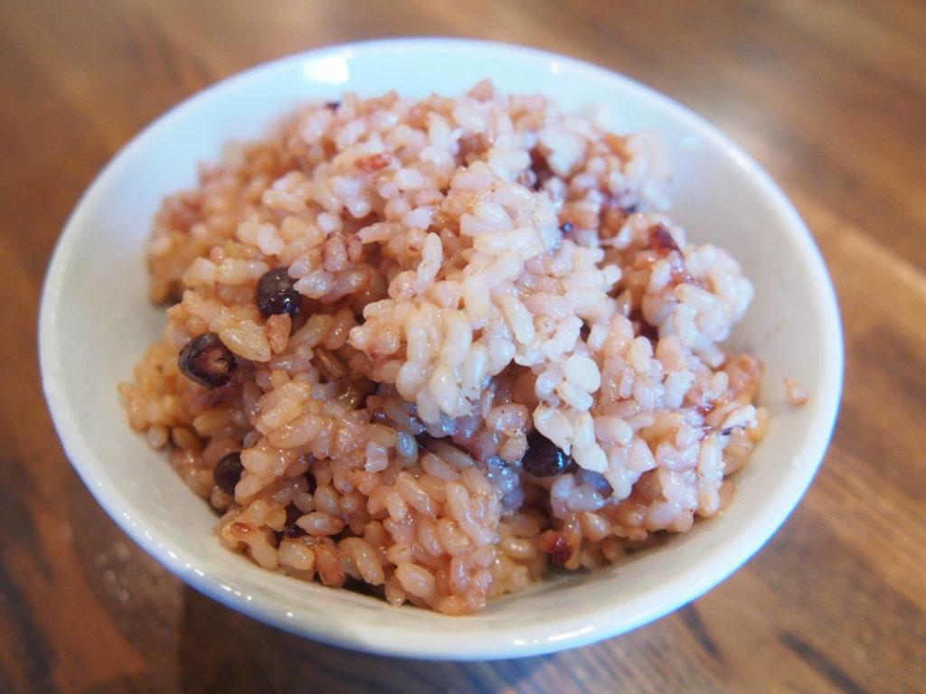 黒米のご飯