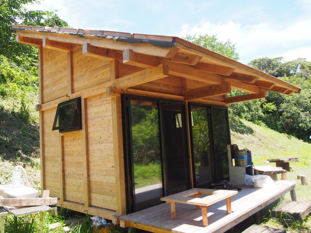 SORAプロジェクトで作った小屋