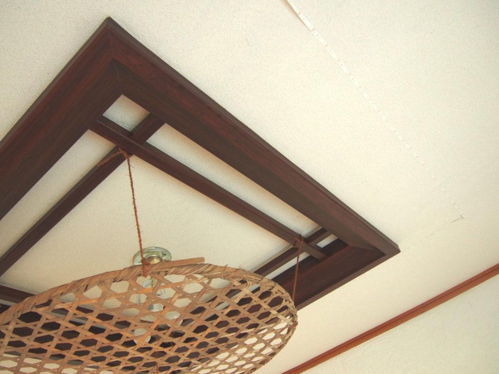 1階の天井の電気