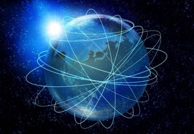地球と宇宙(宇宙軍イメージ画像)
