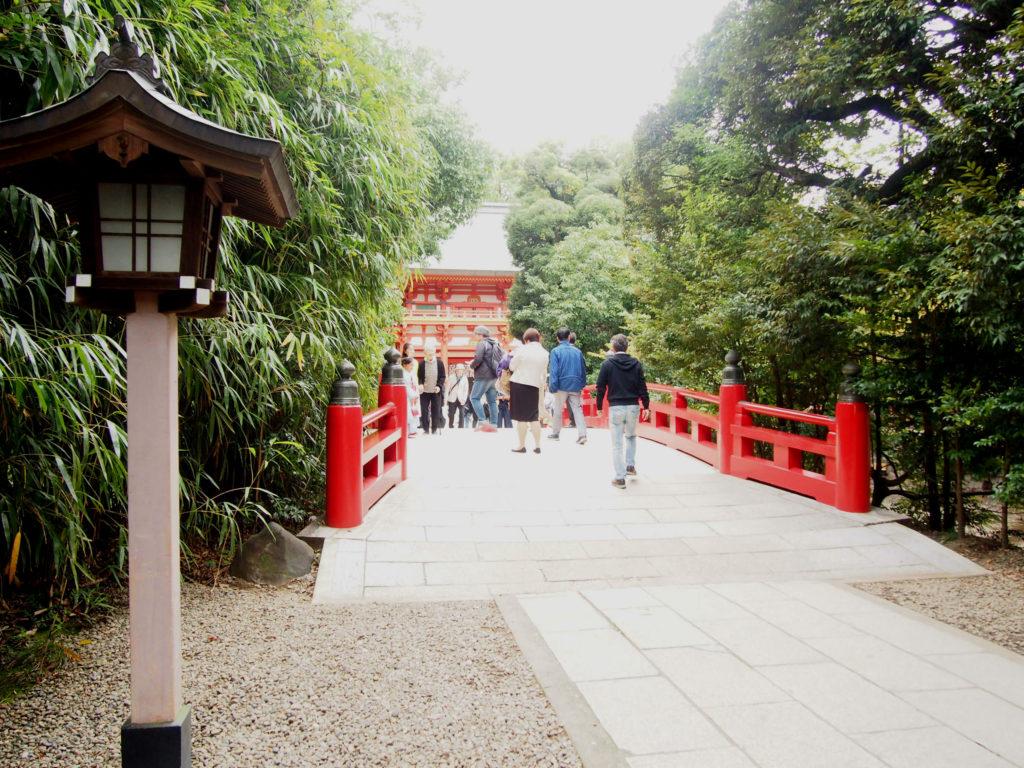 氷川神社の橋