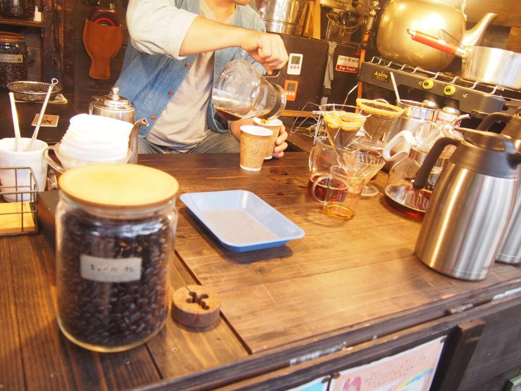 旅商人のコーヒー