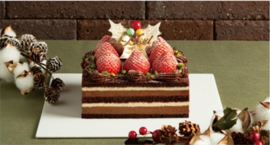 嘉山農園 苺のチョコレートショートケーキ