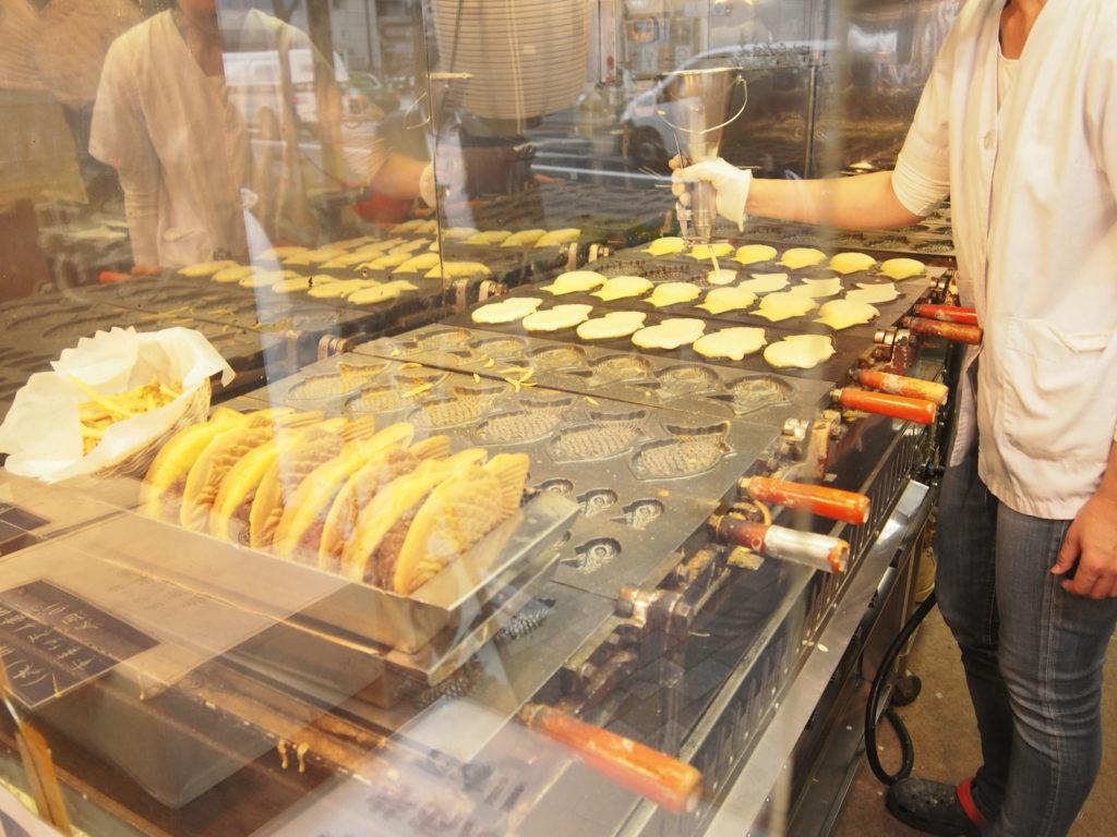 新宿椿庵のたい焼き