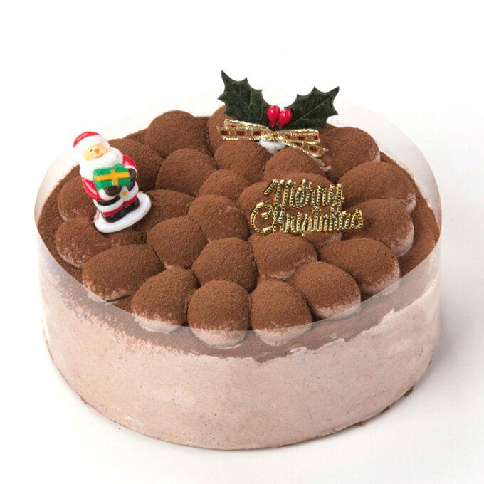 クリスマスココアケーキ