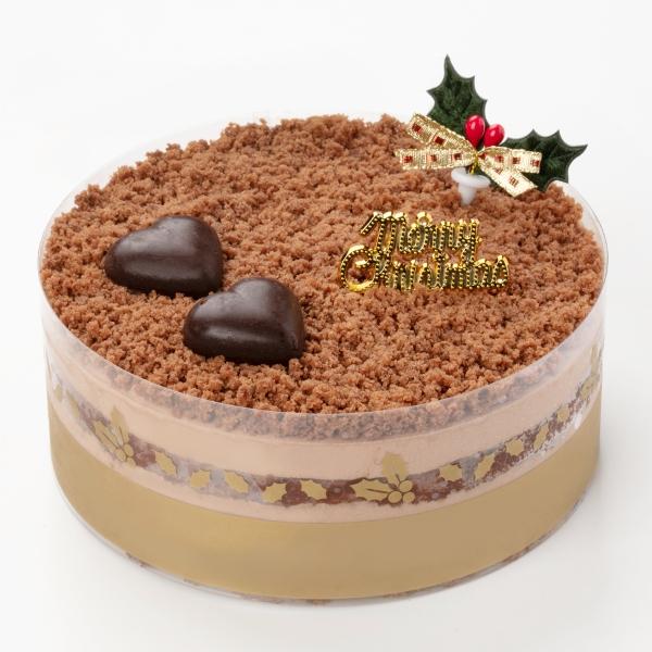 クリスマスチョコレートムースケーキ
