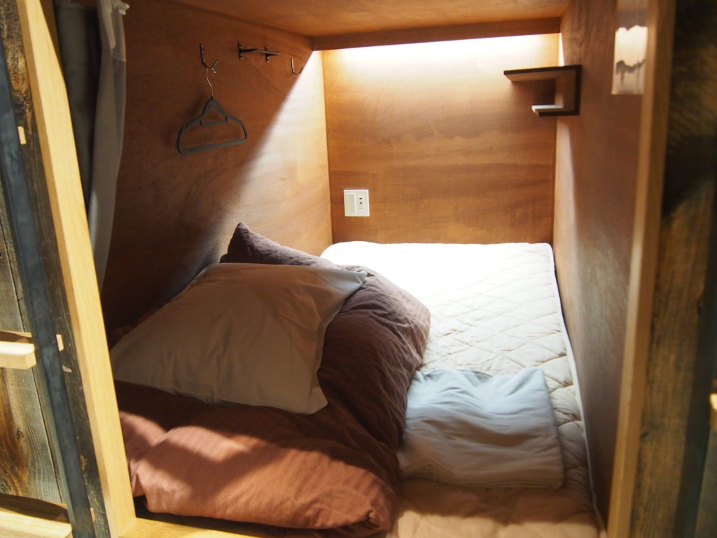 ドミトリールームの自分の部屋