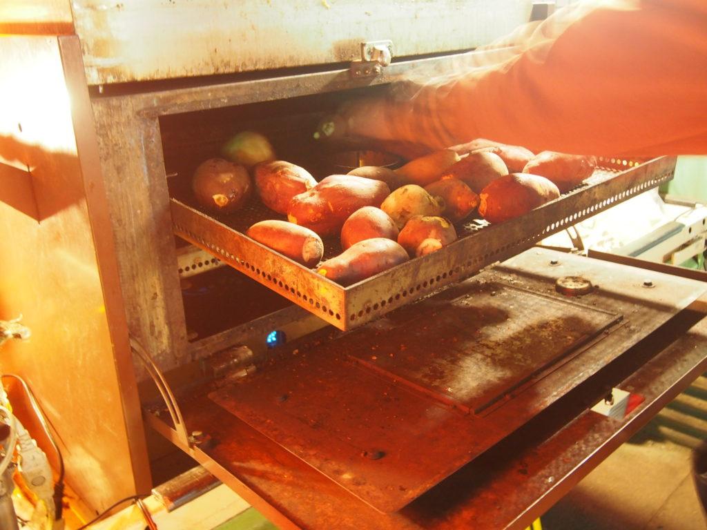 タローマルシェの焼き芋