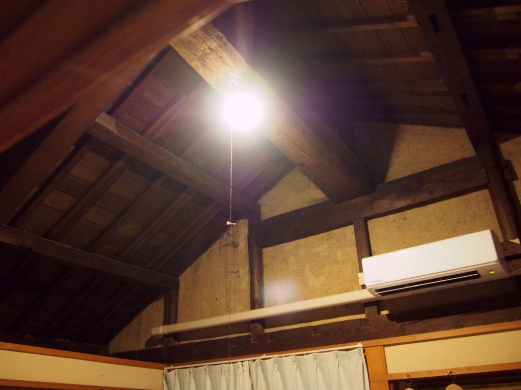 宿泊部屋「空」の天井