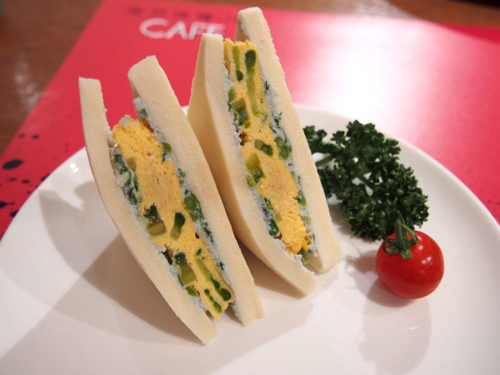 まずいサンドイッチ