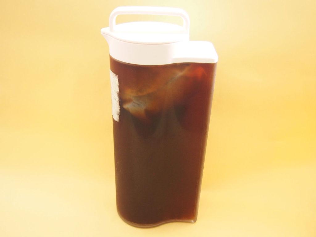 無印良品の冷水筒・ポットで作った水出しコーヒー