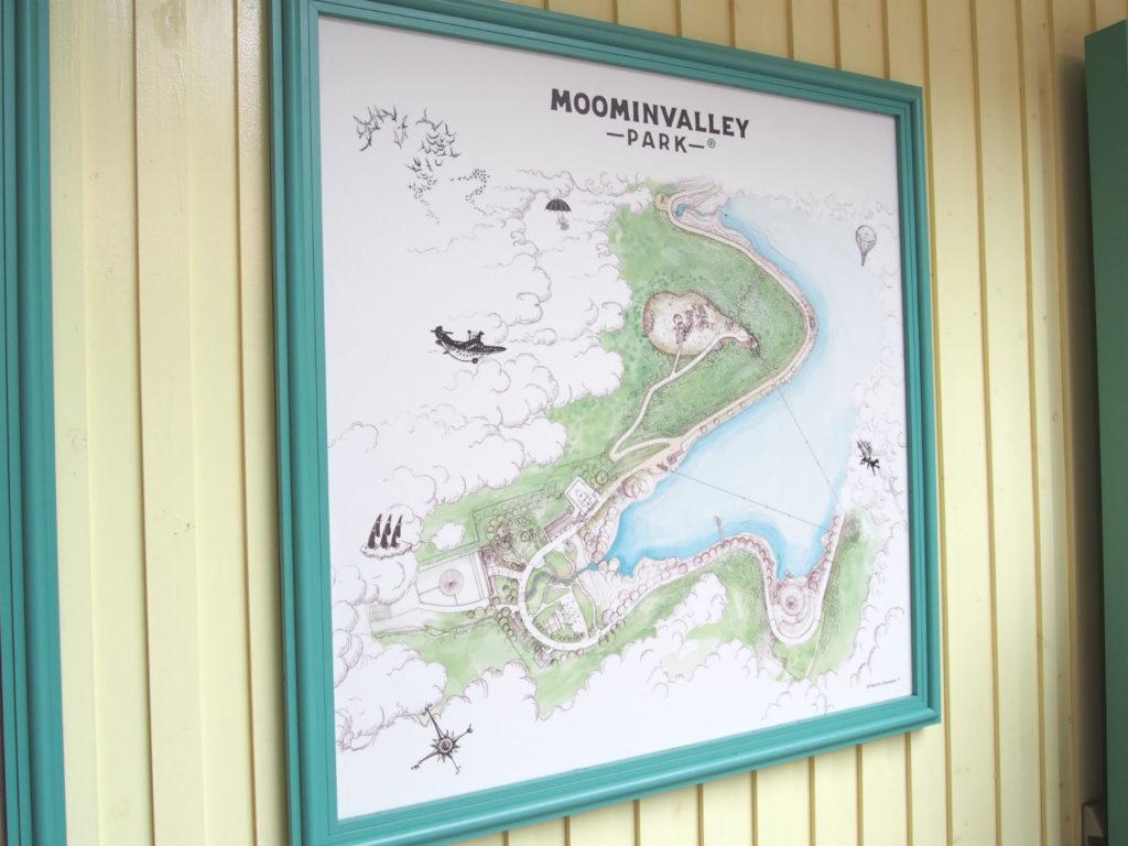 ムーミンバレーパークの地図