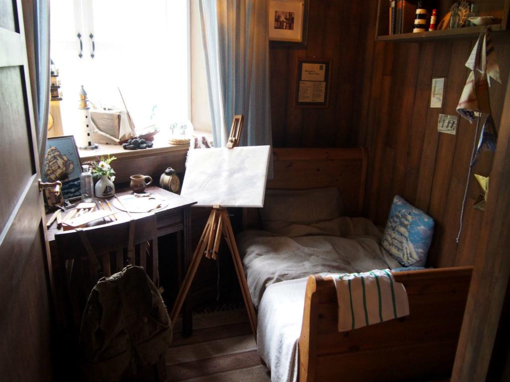 ムーミンの部屋