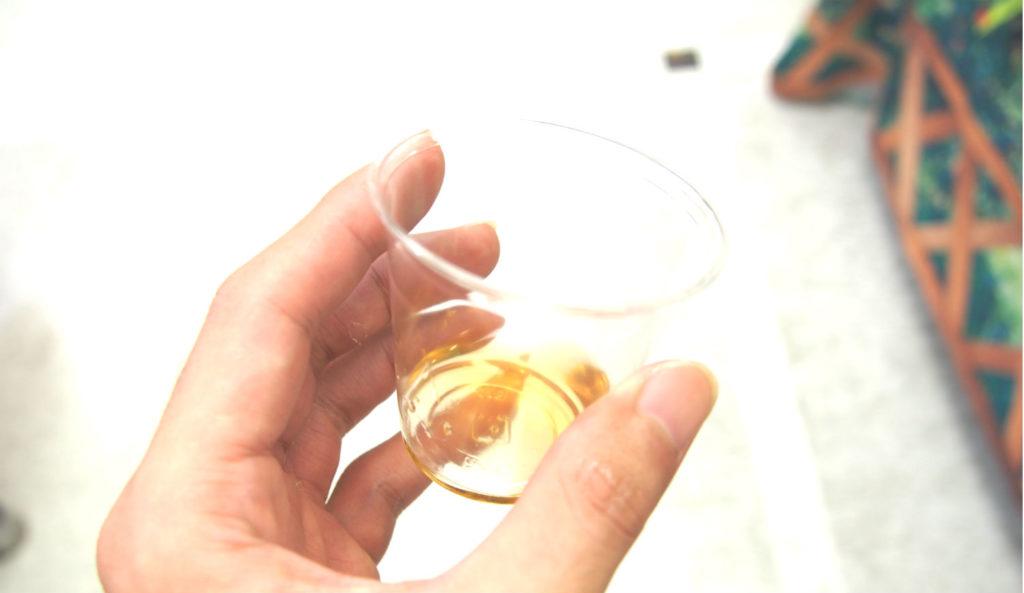 チョーヤのオーガニック梅酒