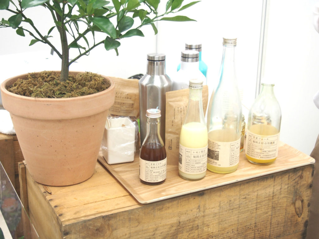 福岡正信自然農園のジュース