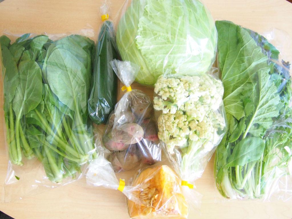 食べチョクコンシェルジュの有機野菜