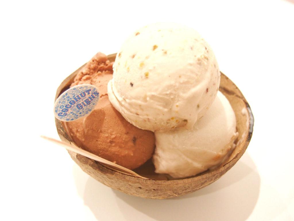 ココナッツグレン(COCONUT GLEN'S)のアイス