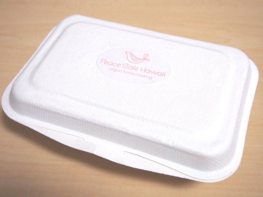 Peace Cafe Hawaiのデリの容器