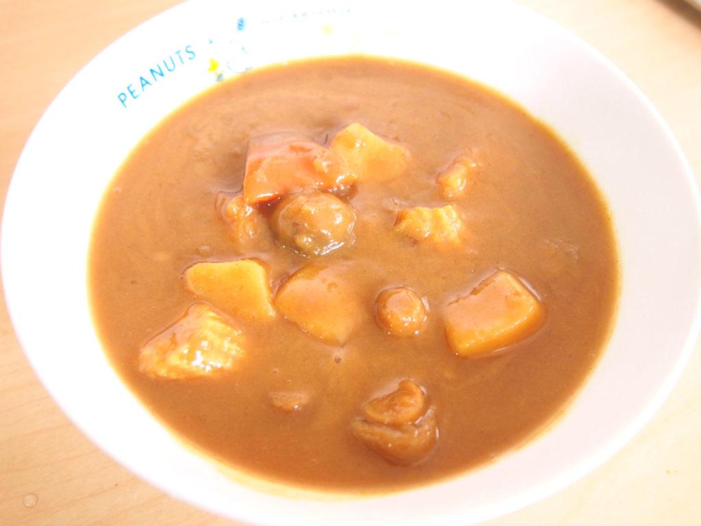 レトルトの野菜(ベジタリアン)カレー