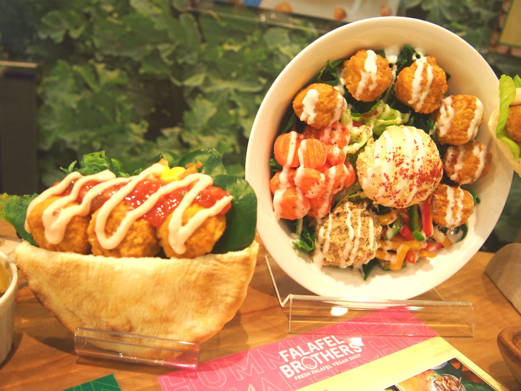 FALAFEL BROTHERS渋谷店のファラフェル