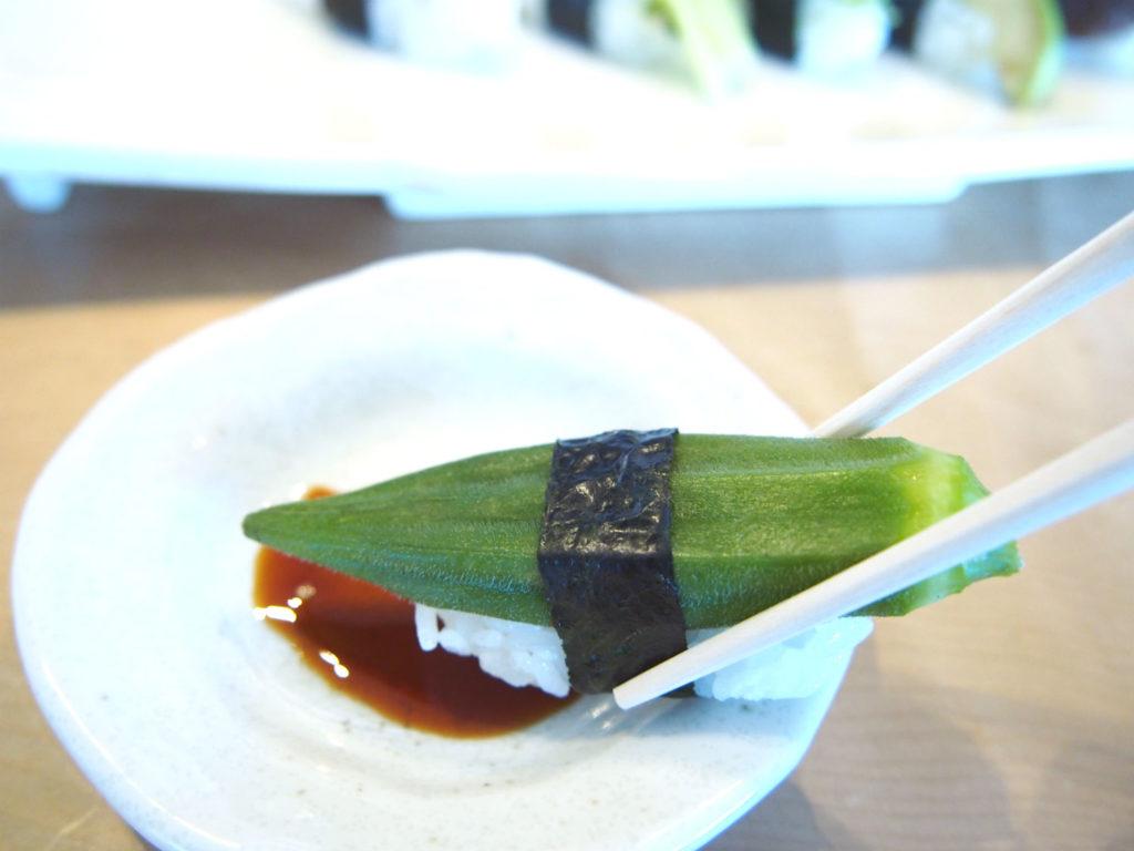 おくらのヴィーガン寿司