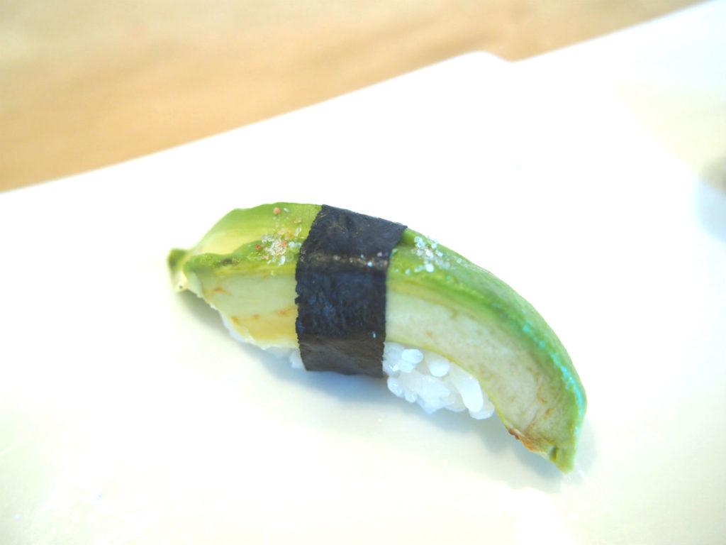 アボカドのヴィーガン寿司
